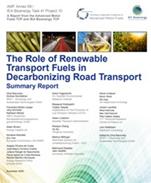 El papel de los combustibles renovables en la descarbonización del transporte (AIE)