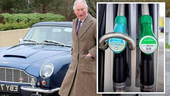 El Aston Martin preferido del príncipe Carlos funciona con queso y vino.